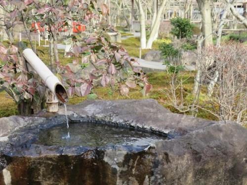 Just off the Yutoku Inari Shrine, Take a walk through a Japanese garden