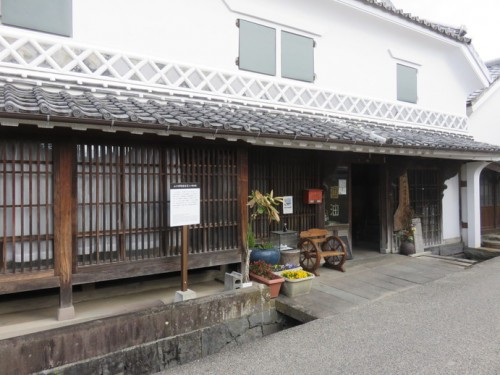 yamaguchi soy in hizenhama shuku old town in Saga