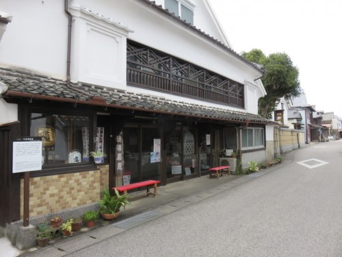 The Nakashima Brewery is the oldest one in the town.