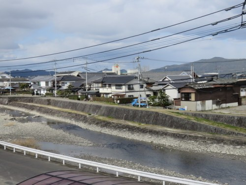 hama river in Hizenhama town