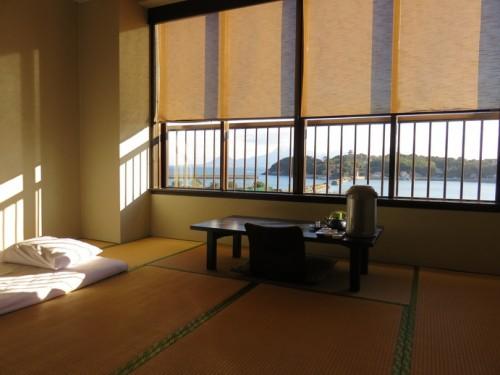 a tatami room at tsurusou