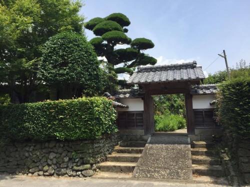 samurai town in Izumi, Kagoshima prefecture