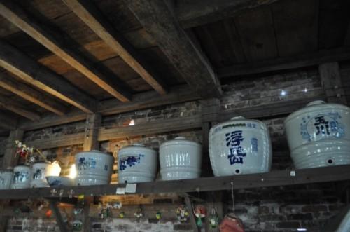 Sake in Matsuura ichi shuzo