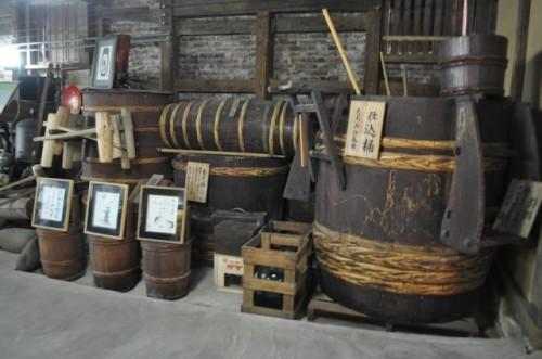 Sake factory in Saga