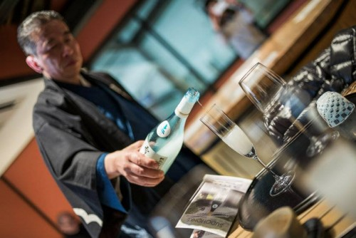 Sudo honke sake brewery