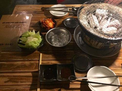 Japanese bbq restaurant