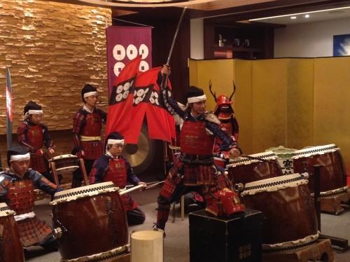 Wadaiko performance
