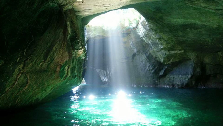 Izu Peninsula: Dogashima Blue Cave and Koganezaki Park