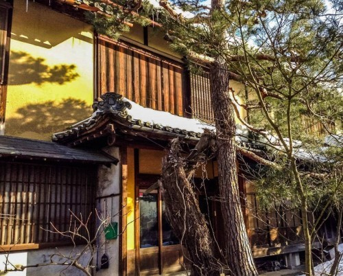 A traditional Japanese house in Nagano