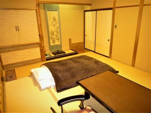 My room at Ogawaso Ryokan in Fujinomiya city