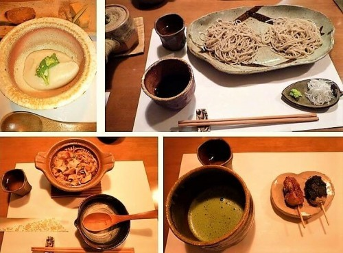soba special course at Toshian