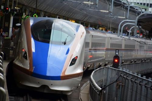 JR Hokuriku Shinkansen which connects Tokyo and Nagano
