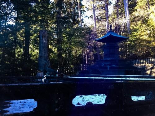 Okumiya shrine in Nikko