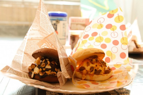 Onomachi Komachi ice burger
