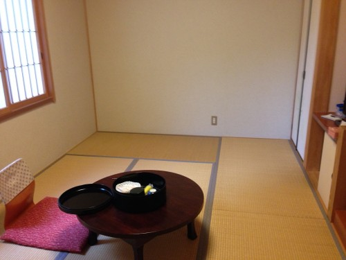 My room at Izumiso ryokan in Mino city, Gifu prefecture