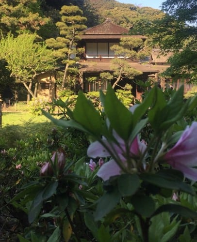 Sankeien Thatched Roof House