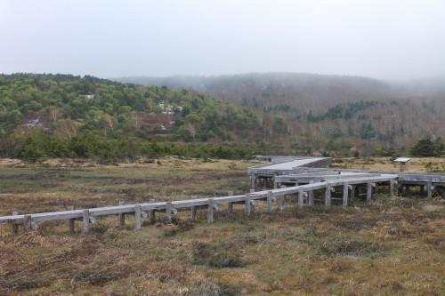 Jododaira marshland near Mount Azuma, Fukushima, Japan.