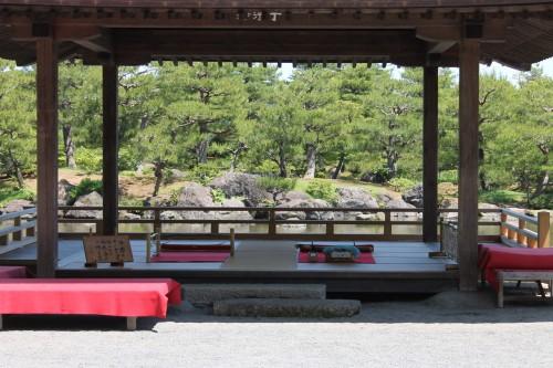 The Heart of the Jorakuen Japanese Garden, Fukushima, Japan.