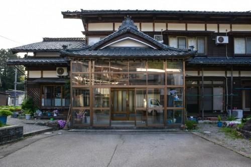 Minshuku Eingang, Takane, Niigata, Japan