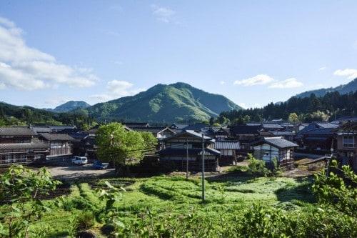 Minshuku Aussicht vom Zimmer, Takane, Niigata, Japan