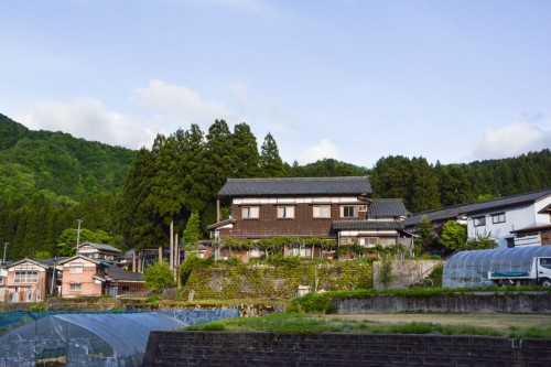 Das schöne Minshuku, Zaigomon in Takane, Japan
