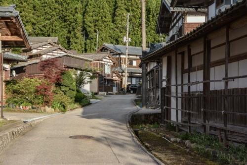 Straße Takane, Niigata, Japan