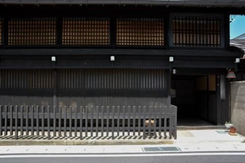 Nino-machi Street / Sanno-machi Street in Hida city, Gifu prefecture