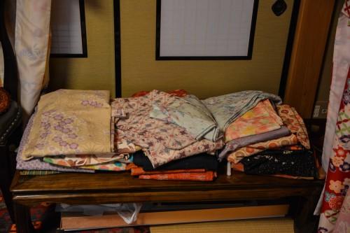 The unique experience of wearing a kimono: Obora Kimono