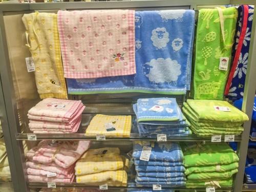 The hand towel is necessary if you visit Yakushima island in Kyushu, Japan.