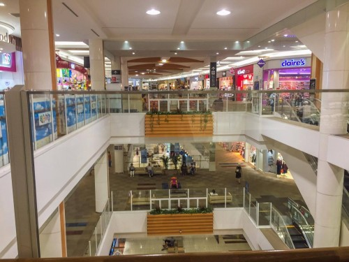 AEON shopping mall in Japan.