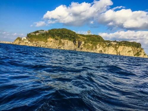 Take a boat cruise around Enoshima, Japan.