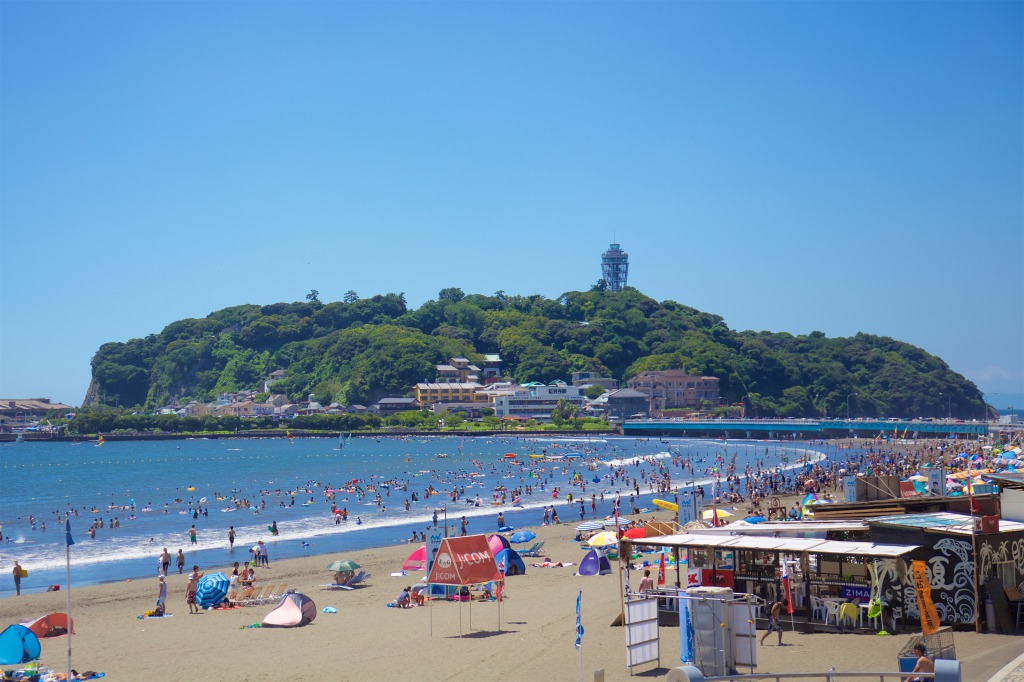 Enoshima; Where are the Closest Beaches From Tokyo?
