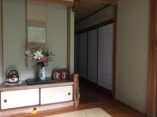 Farm stay at Ofuji in Oita prefecture, Kyushu, Japan.