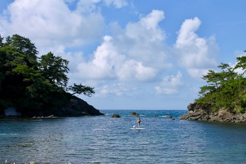 Meikyodo Cave: Paddle Boarding on the Sea of Japan,  Fukui prefecture