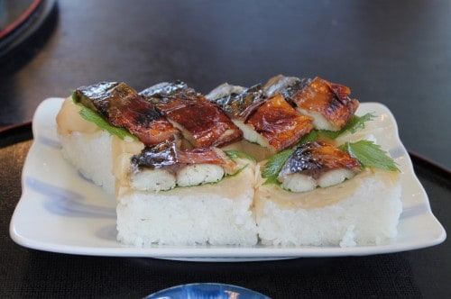 The originated sushi in Japan