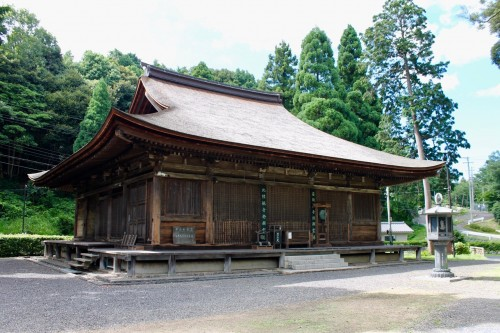 Nakayama temple, Fukui prefecture