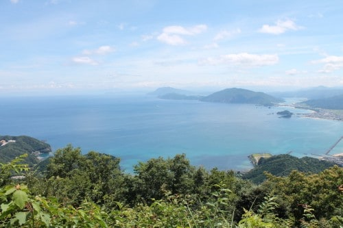 View points at Wakasa Takahama, Fukui prefecture