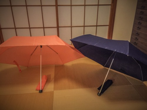 An umbrella  is necessary if you visit Yakushima island in Kyushu, Japan.