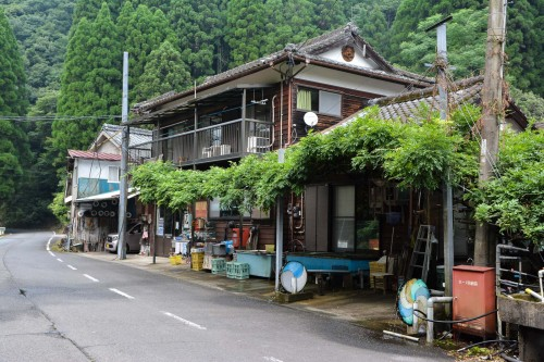 The Guesthouse in in Saiki city, Oita prefecture, Kyushu.
