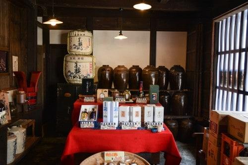 Sake Brewery in Usuki, Oita prefecture, Kyushu, Japan.