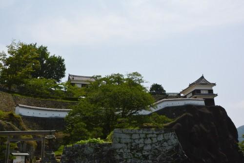 Usuki castle ruins in Usuki, Oita prefecture, Kyushu, Japan.