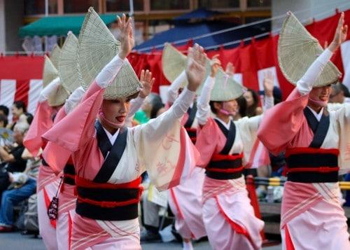 Koenji Awa Odori Summer Dance Festival Tokyo Tokushima Prefecture Shikoku Traditional Matsuri Food