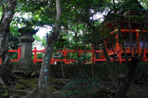 Usa Jingu Shrine is a national treasure of Japan lies within Usa, Oita.