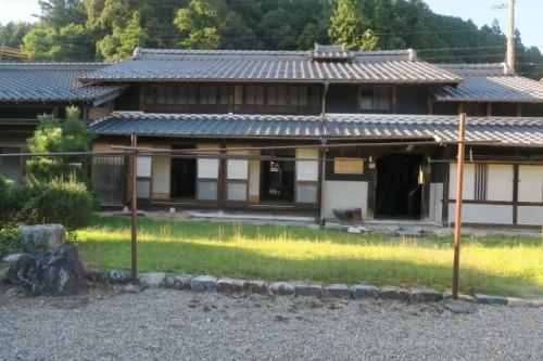 The old town in Mino city, Gifu, Japan.