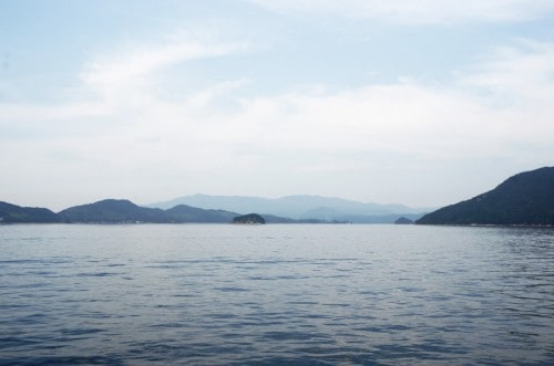 Seto Inland Sea in Japan