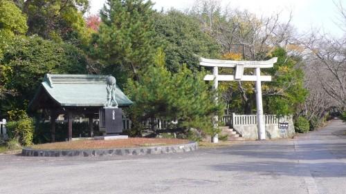 Kitsuki castle, the smallest castle in Oita prefecture, Japan.