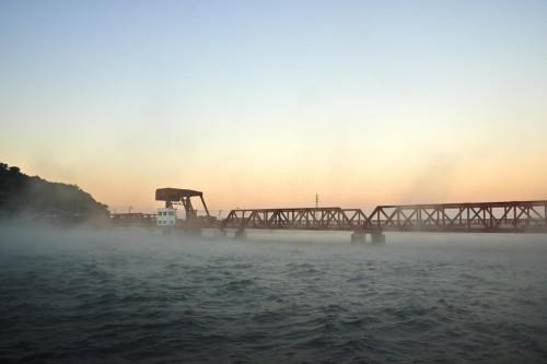 Hijikawa Arashi : the Storm of the Hiji-kawa River, Ozu City, Ehime, Japan.