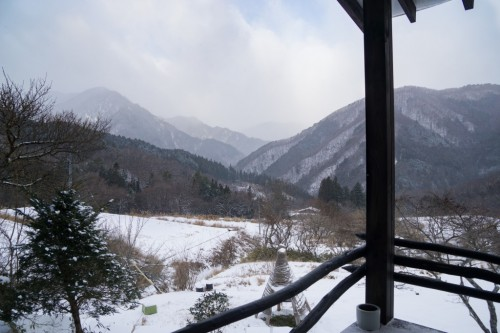 The View from Yui-an Hostel and Cafe