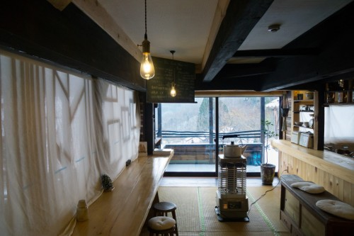 Bar at Yui-an Hostel and Cafe