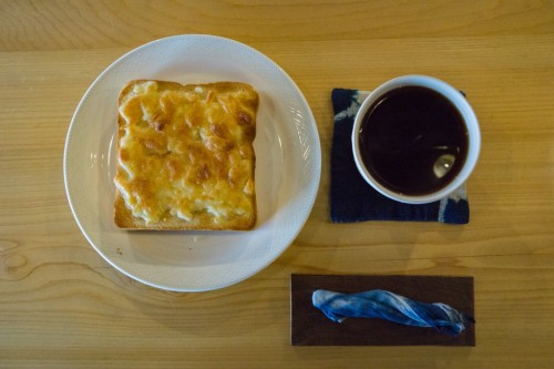 Breakfast at Yui-an Hostel and Cafe
